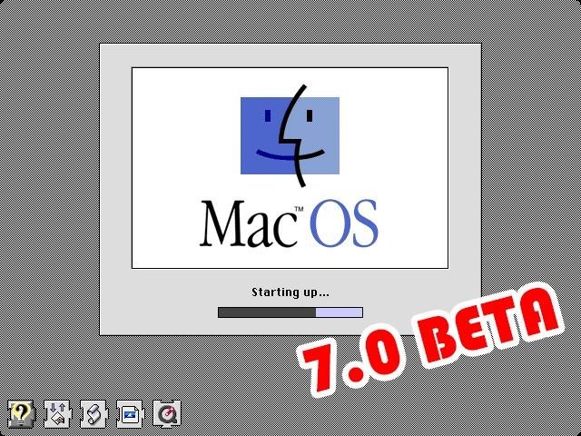 Mac OS 7.0 Beta (7.0a9, 7.0b4) (1990)