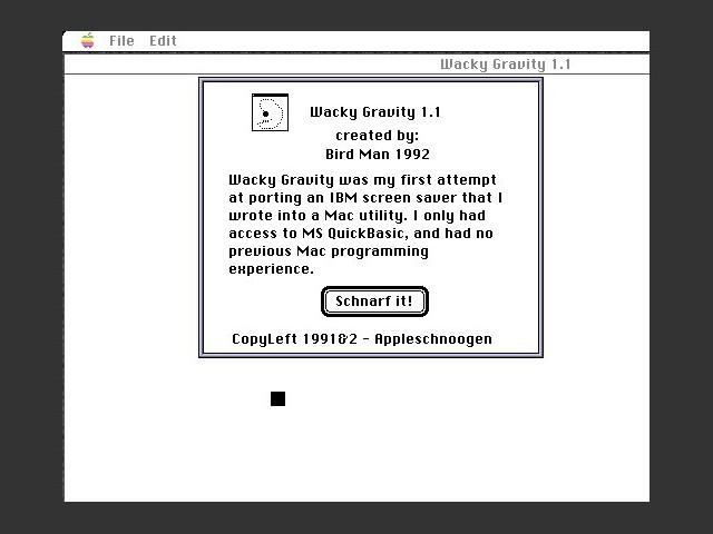 Wacky Gravity (1992)