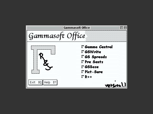 Gammasoft Office (1998)