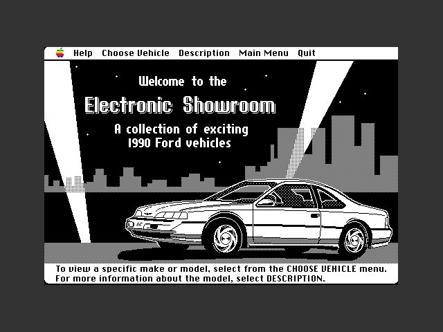 1990 Ford Simulator II (1989)