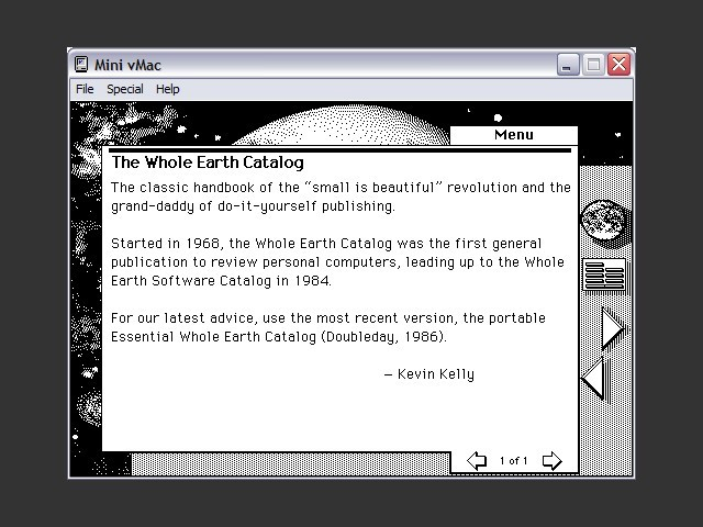 The Electronic Whole Earth Catalog (1989)