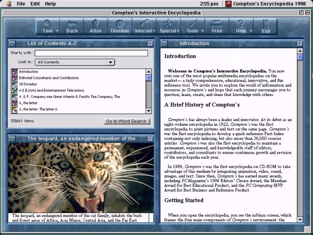 Compton's Interactive Encyclopedia: 1998 Edition (1998)