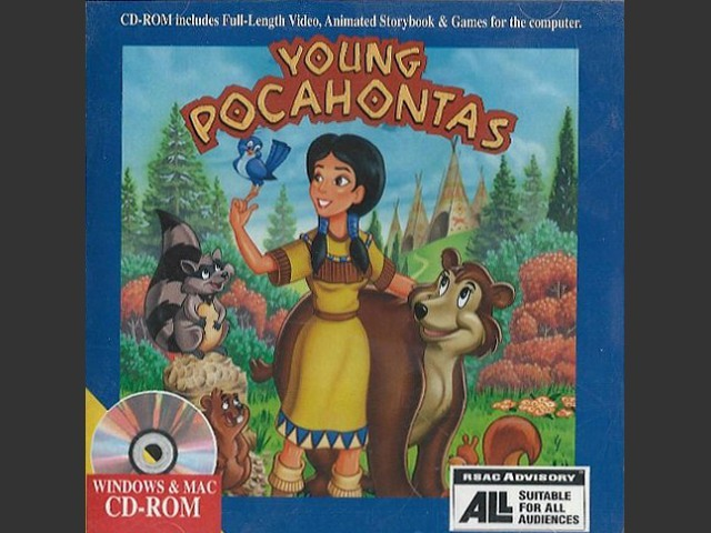 Young Pocahontas Interactive Storybook (1995)