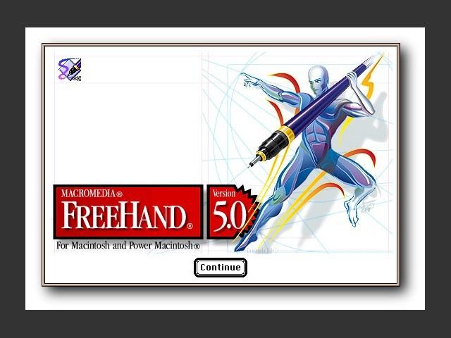 Macromedia FreeHand 5.0.2 (1995)