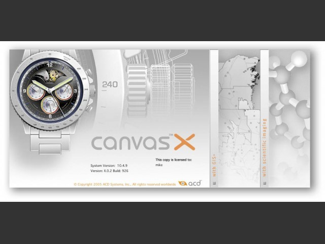 Canvas X (2007)