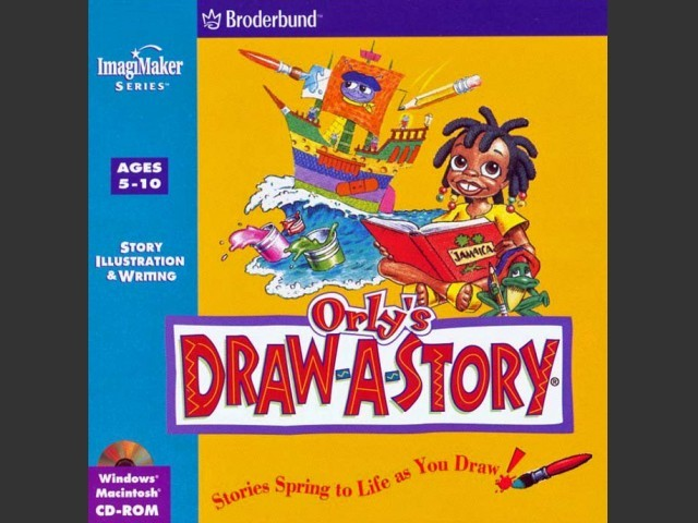 Orly's Draw-A-Story (1996)