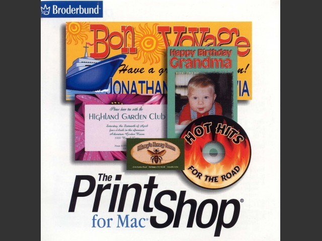 The Print Shop for Mac CD (2002)