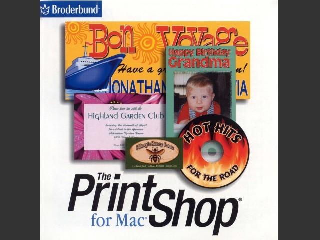 The Print Shop for Mac CD (2002)