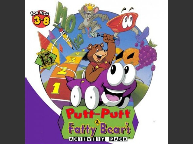 Putt-Putt & Fatty Bear's Activity Pack (1994)