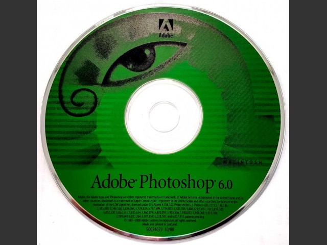 Adobe Photoshop 6.0 (2000)