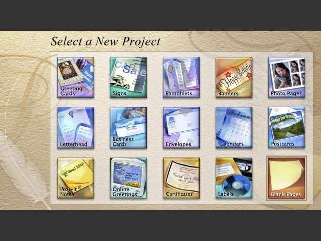 The Print Shop Mac OS X Edition 1.0 (2003)