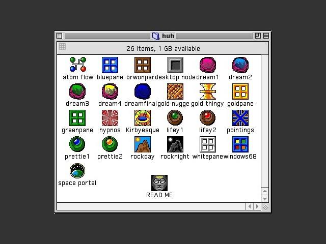 Huh icons