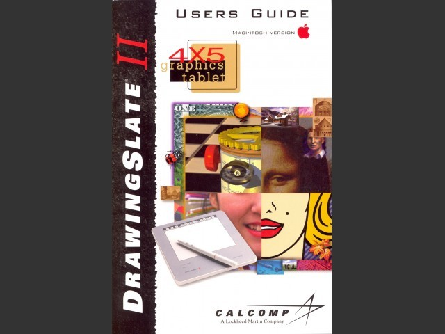 TabletWorks 5 for Calcomp DrawingSlate II (1998)