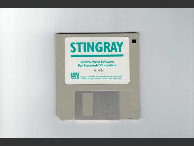 Stingray floppy disk