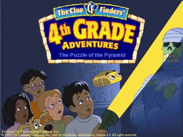The ClueFinders 4th Grade Adventures (1999)