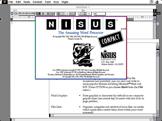 Nisus Compact (1993)