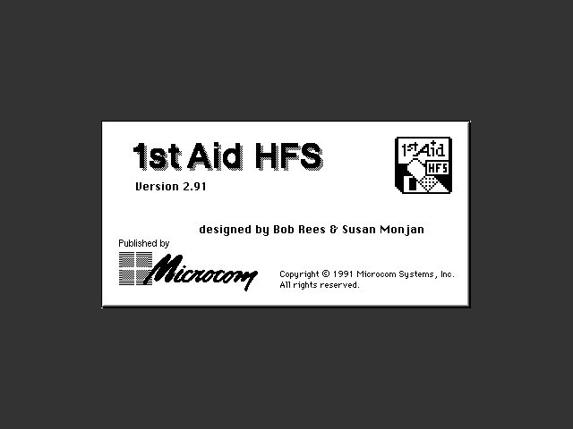 1st Aid HFS (1991)