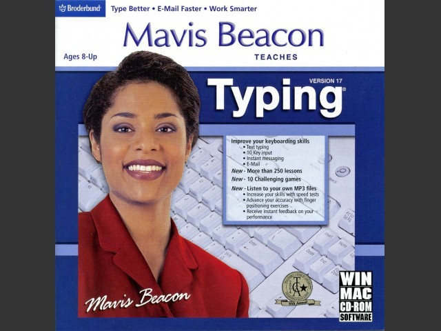 Mavis Beacon Teaches Typing - Version 17 (2005)