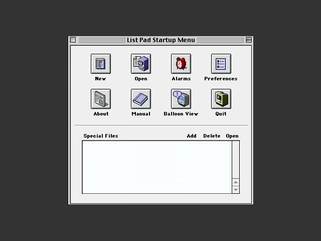 List Pad (2000)