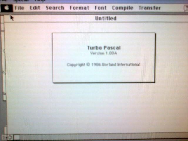 Turbo Pascal 1.x (1986)