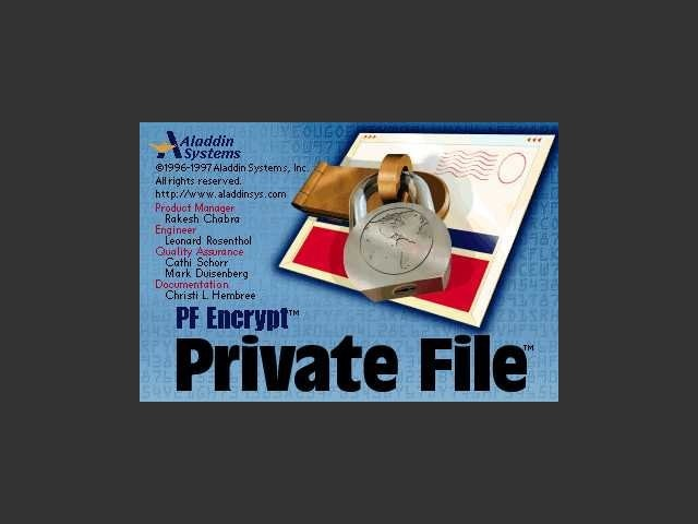 Aladdin Private File - Start