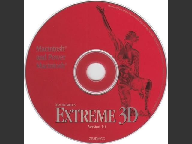 Macromedia Extreme 3D - CD