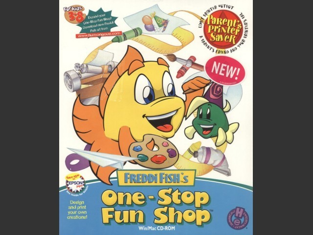 Freddi Fish's One Stop Fun Shop (2000)