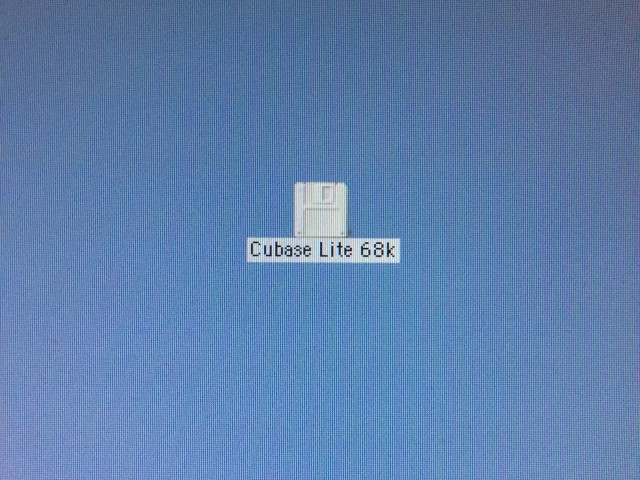 Cubase Lite (1.02r5) (68k) for Macintosh (1993)