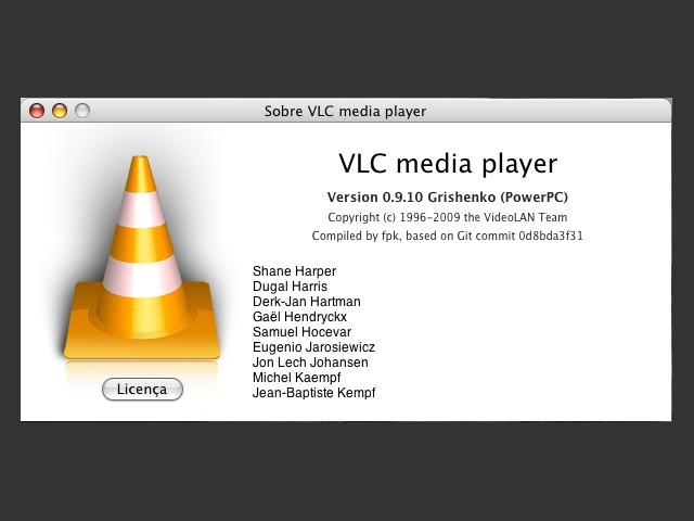 VLC Media Player (for PPC) - Macintosh Repository