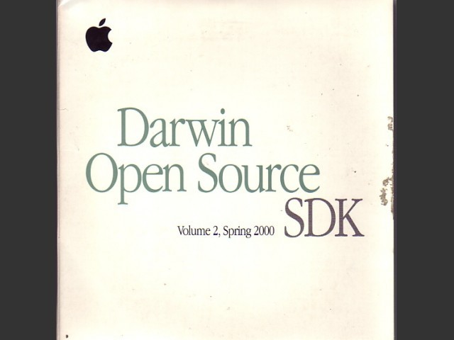 Darwin Open Source v1.0. SDK, Volume 2, Spring 2000 (2000)