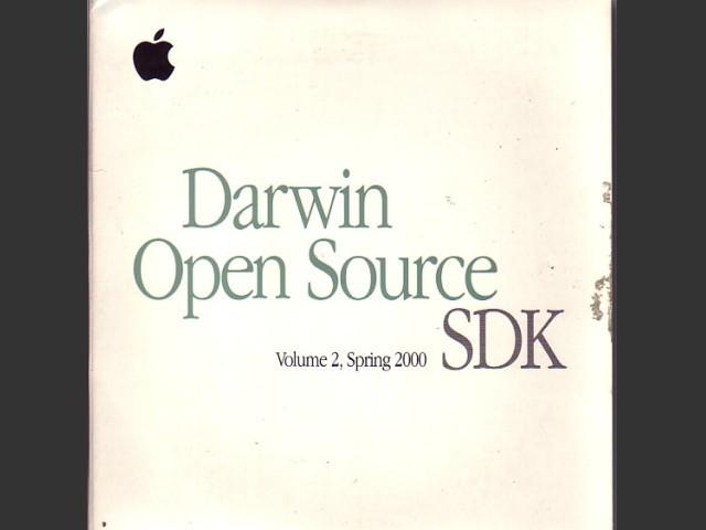 Darwin Open Source v1.0. SDK, Volume 2, Spring 2000 (2000)