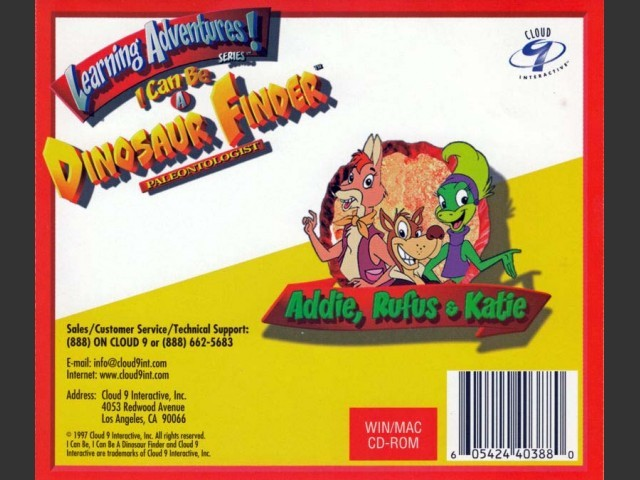 I Can Be a Dinosaur Finder (1997)