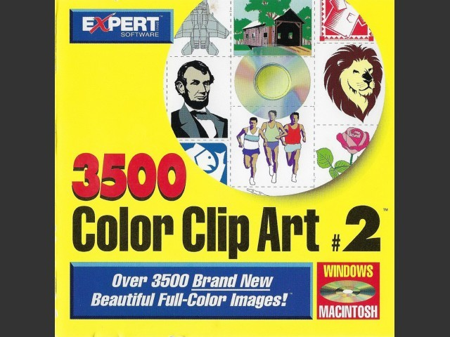 Expert Color ClipArt #2 (1995)