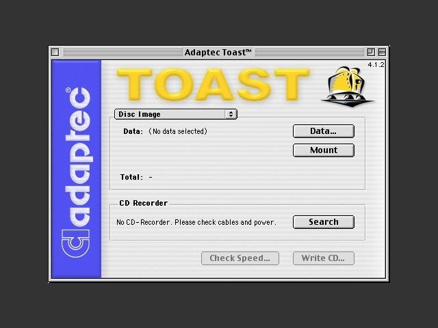Adaptec Toast Deluxe 4.x (EN, FR, GE) (1999)