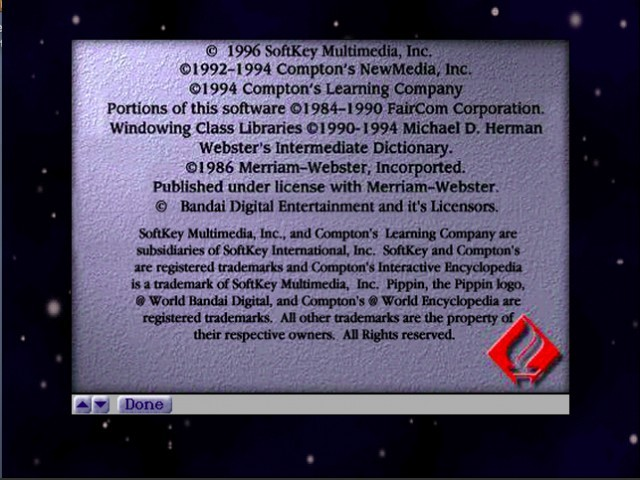 Compton's Interactive Encyclopedia (1996)