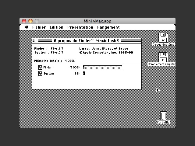 System 6.0.7 (French) (1990)