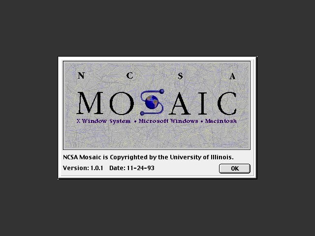 NCSA Mosaic (browser) (1993)