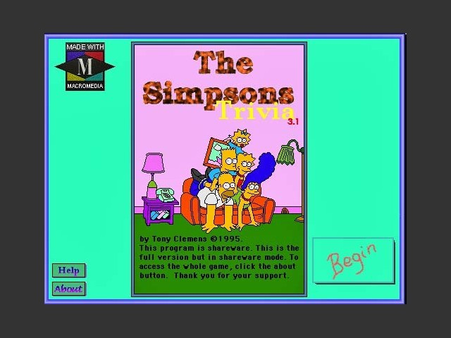 The Simpsons Trivia 3.1 (1995)