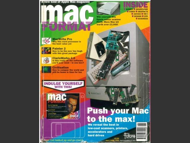 MacFormat 02 (May/June 1993) magazine & disk (1993)