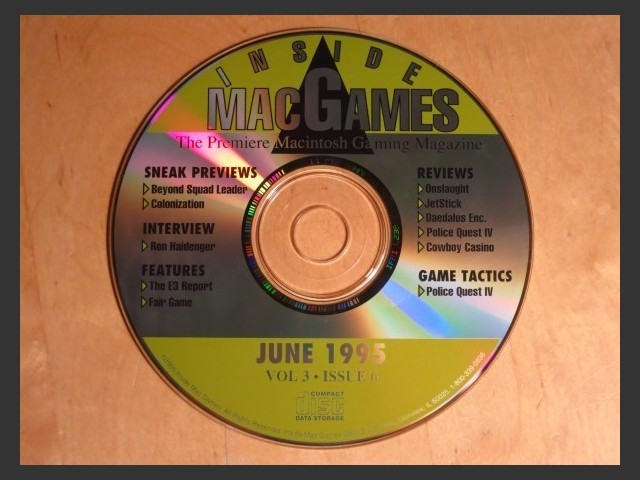 Inside Mac Games CD June 1995 (1995)
