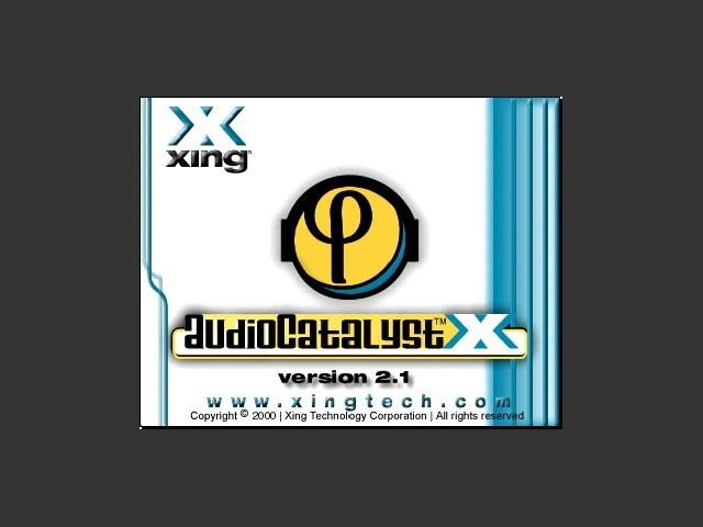 AudioCatalyst MP3 Encoder (1999)