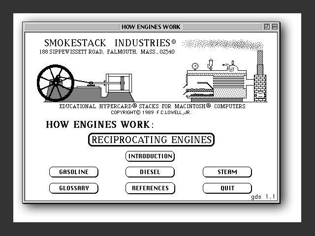 """Title card for """"How Engines Work"""""""