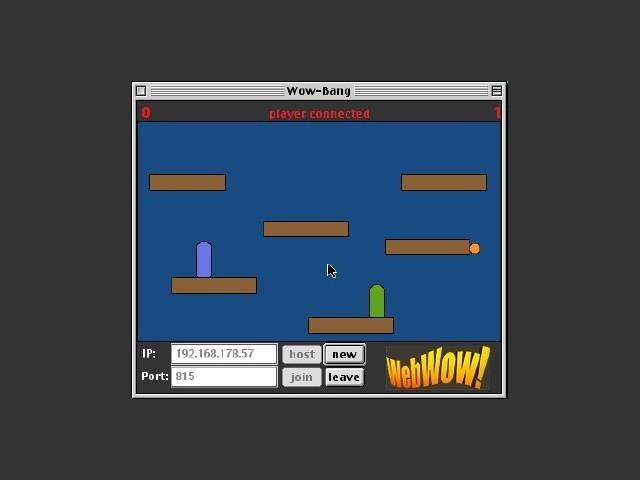 WowBang LAN hosted on OS 9