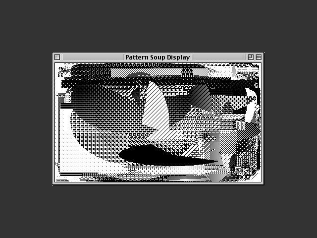 Pattern soup window