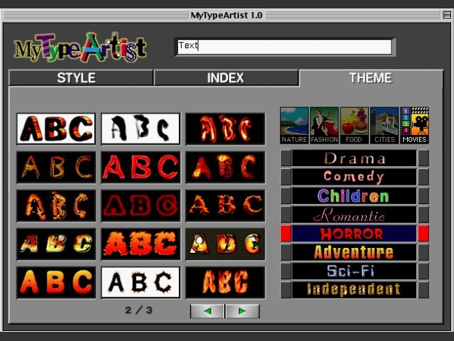 MyTypeArtist (1998)