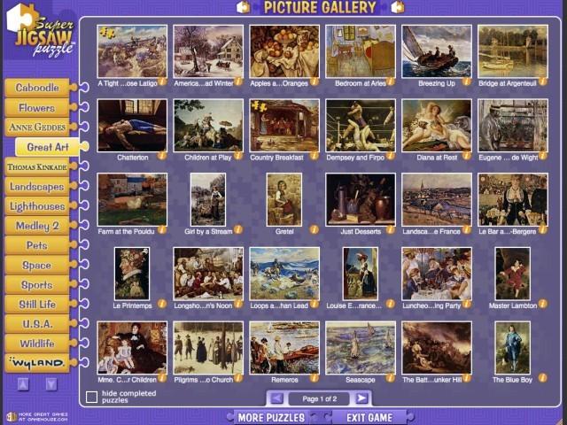 Super Jigsaw Puzzles (2003)