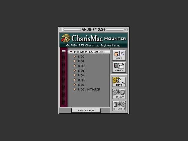 Anubis Utility v2.54h (1995)