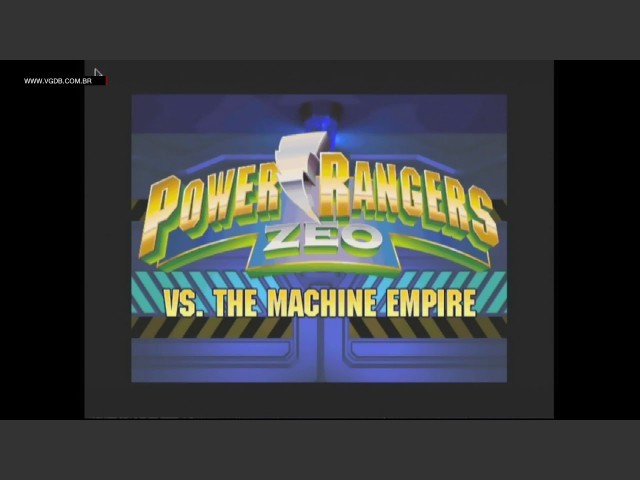 Power Rangers Zeo Vs. The Machine Empire (1996)
