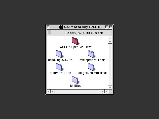 Apple Open Collaboration Environment (AOCE) (1993)