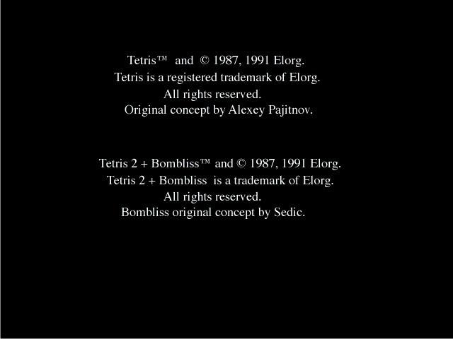 Super Tetris 2 + Bombliss (1995)